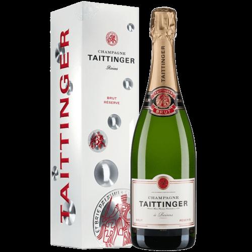 Champagne Taittinger Brut Réserve Cadeau