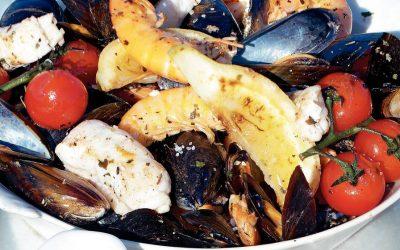 Geroosterde Fruit de Mer